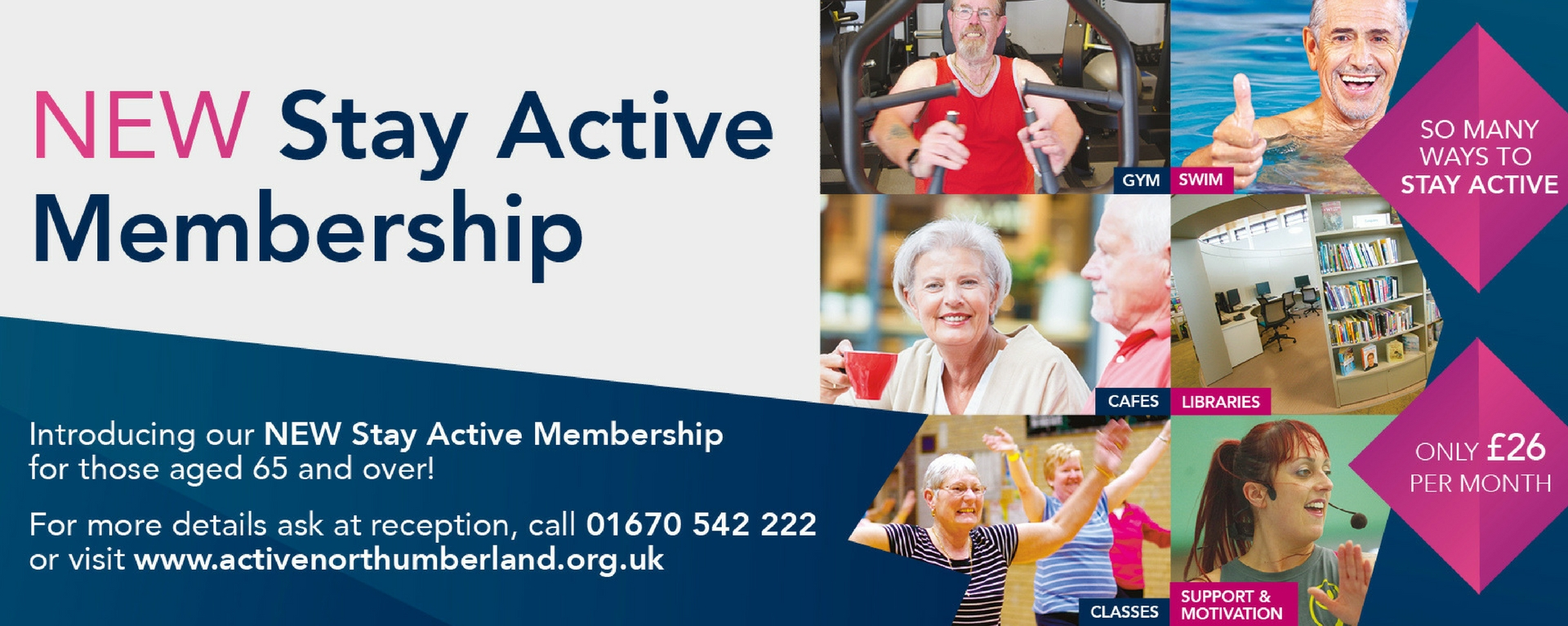 27 - Stay Active Membership