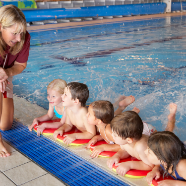 Train to be a swimming teacher with Active Northumberland Academy