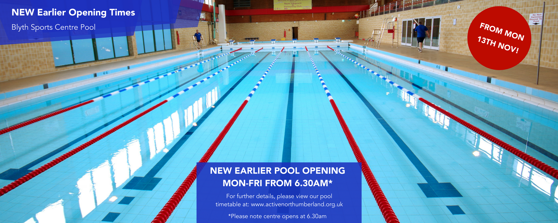 25 - New Earlier Pool Opening