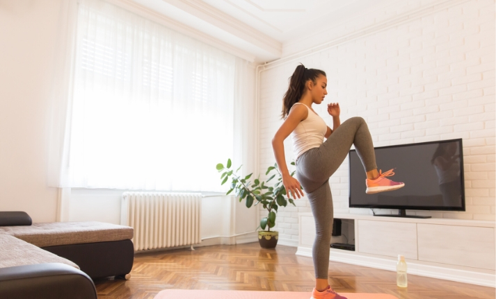 How to stay physically active whilst at home?