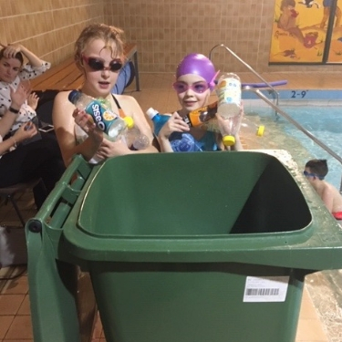 Active swimmers learn valuable lesson about plastic pollution