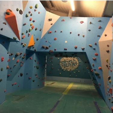 Visit Alnwick's revamped Bouldering Wall