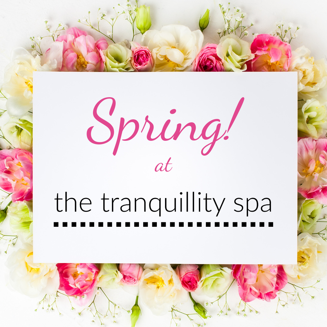 Spring offers at the Tranquillity Spa