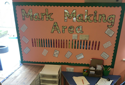 Mark Making Area